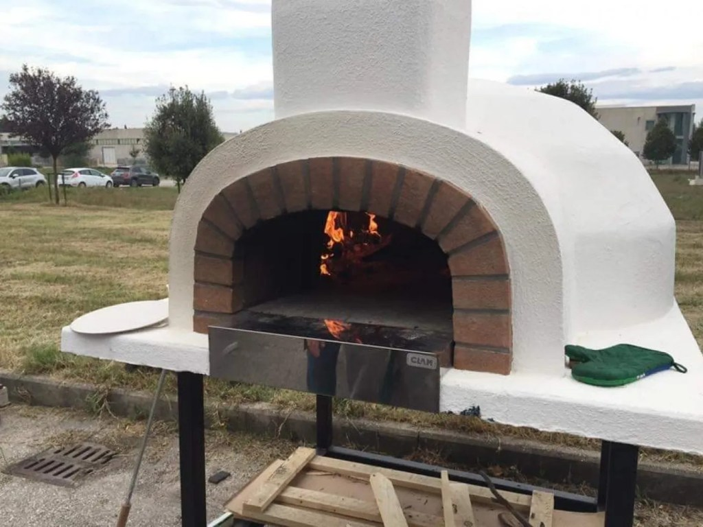 4 Cuptor Pizza Si Paine F90 Pe Lemne