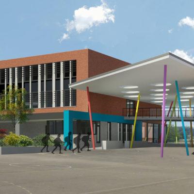 école à Leuze-en-Hainaut