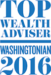 Washingtonian Top Wealth Advisors 2016 Badge