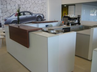 Orana Office reception fit out