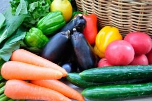 野菜と一緒