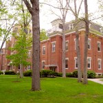 Administration Building (three-quarter view), Manchester College