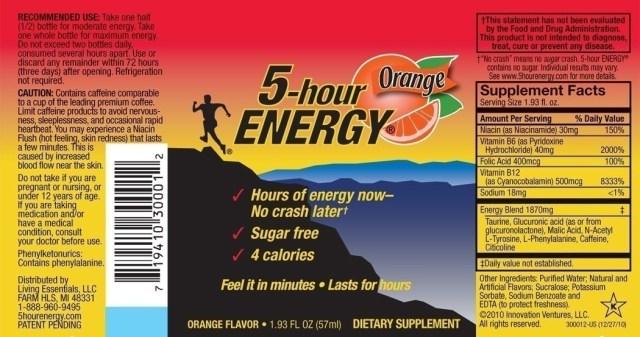 The Debunked, Debased Deceit of 5-hour Energy Drinks | OrangeBean