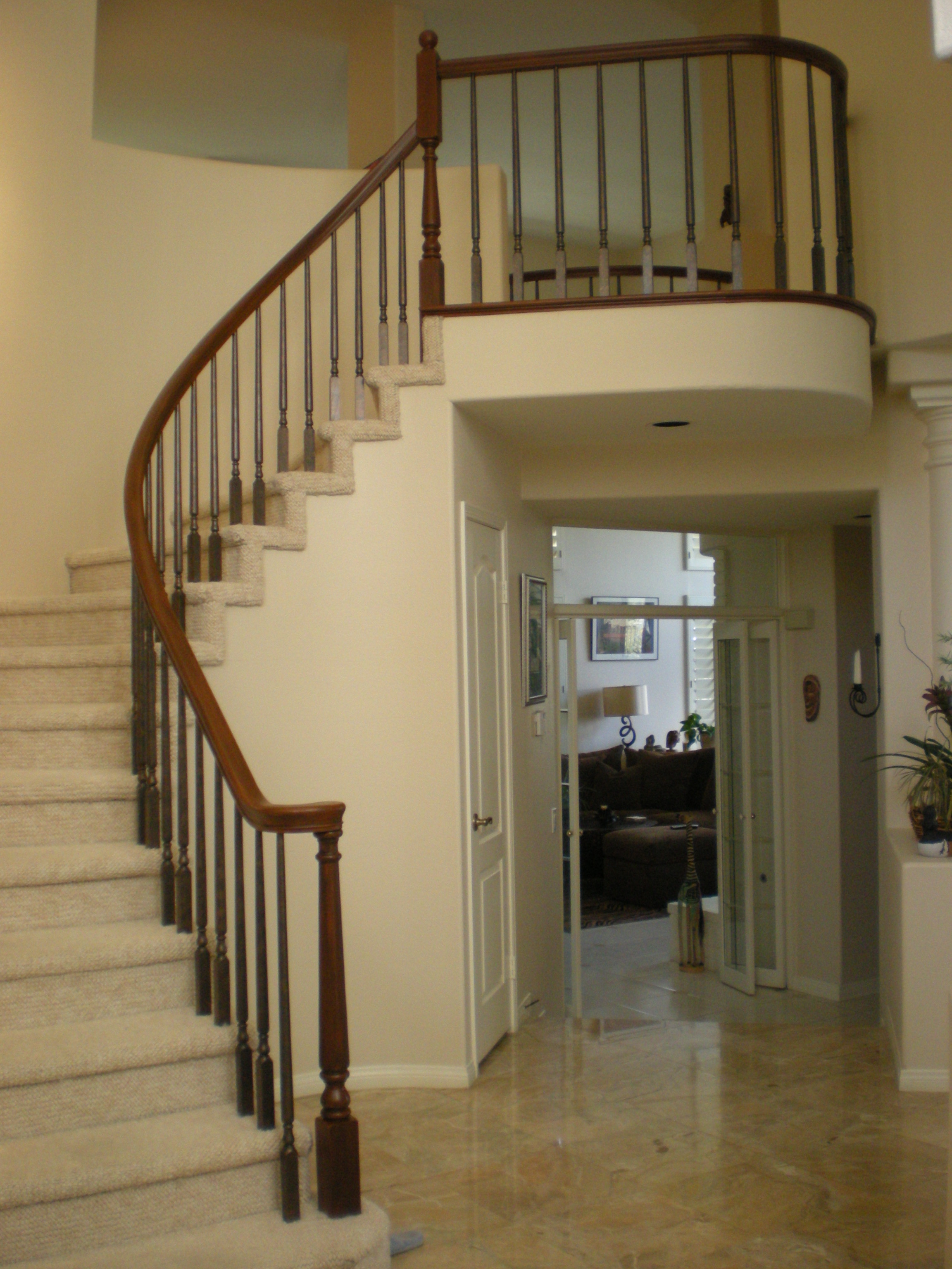 Faux Real Finishes  Stairways  Bannisters