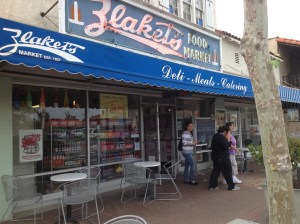 Zlaket's Market on Main Street in Garden Grove.