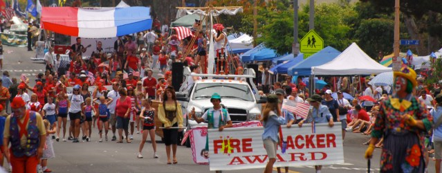 THE FOURTH OF JULY Parade and Celebration attracts an estimated half-million people annually.