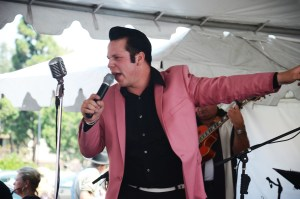 FREE performances by Elvis tribute artists were part of the event (OC Tribune photo).