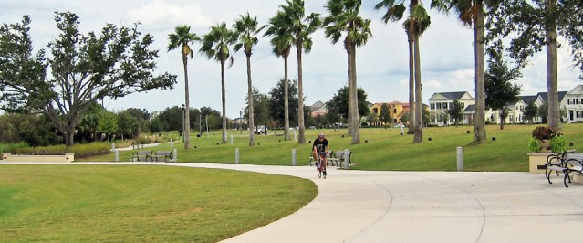BIKE PATH in Orlando, Fla. (Flickr/Brett VA).