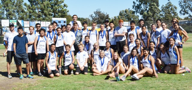 PACIFICA HIGH cross country team.