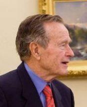 GEORGE H.W. BUSH (White House photo).