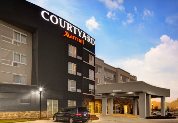 COURTYARD Marriott build by the BN Group in the New Orleans area (BN LLC photo).