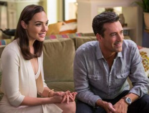 """GAL GADOT and Jon Hamm star in """"Keeping Up With the Jones."""""""