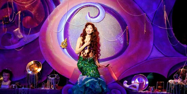 "APRIL MALINA stars in ""Disney's The Little Mermaid"" at the Rose Center Theater in Westminster (Rose Center photo by James Niedle)."
