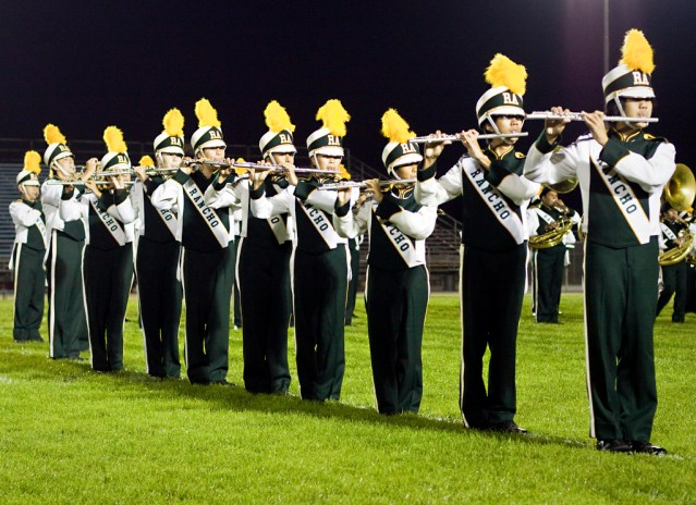 """THE ANNUAL """"SHOWCASE OF BANDS"""" is set for Wednesday at Bolsa Grande Stadium in Garden Grove."""