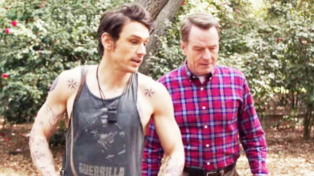 "JAMES FRANCO and Bryan Cranston star in ""Why Him?"""