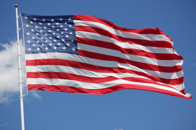 """""""THE STAR-SPANGLED BANNER"""" will be sung at Monday's meeting of the Huntington Beach City Council by Frank Puccilli, 90, a World War II veteran (Flickr/Sam Howzit)."""