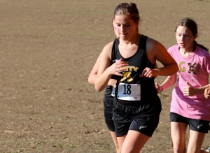 The leader of the pack during the Oct. 1 meet in Woodbridge