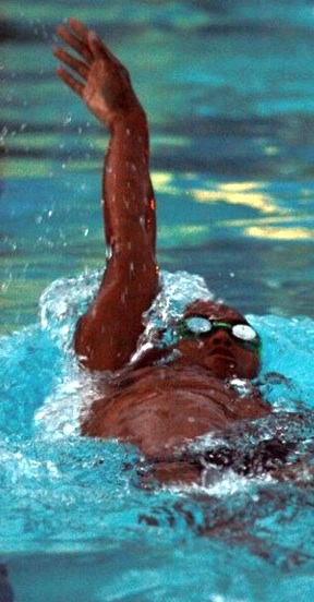 A generic photo of a HS swimmer