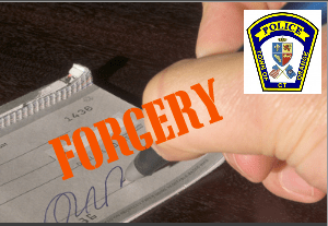 Police: Check Forgery