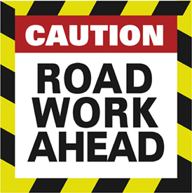 caution-road-work-ahead-temporary-sign