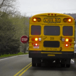 What Is The Fine For Passing A School Bus with Flashing Lights?