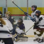 Girls' Ice Hockey: Notre Dame - Fairfield Defeats the Blades in Hamden