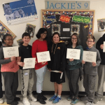 Amity Middle School Students Emulate Jackie Robinson's Character