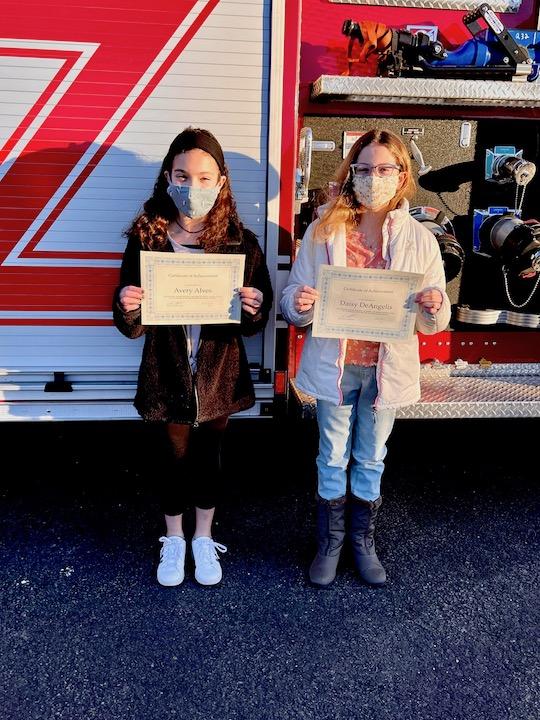 Students Help Orange Fire Marshal's Office Make History