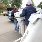 Residents Flock To The Paper Shredding Event At High Plains