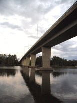George Chaffey bridge across the Murray river