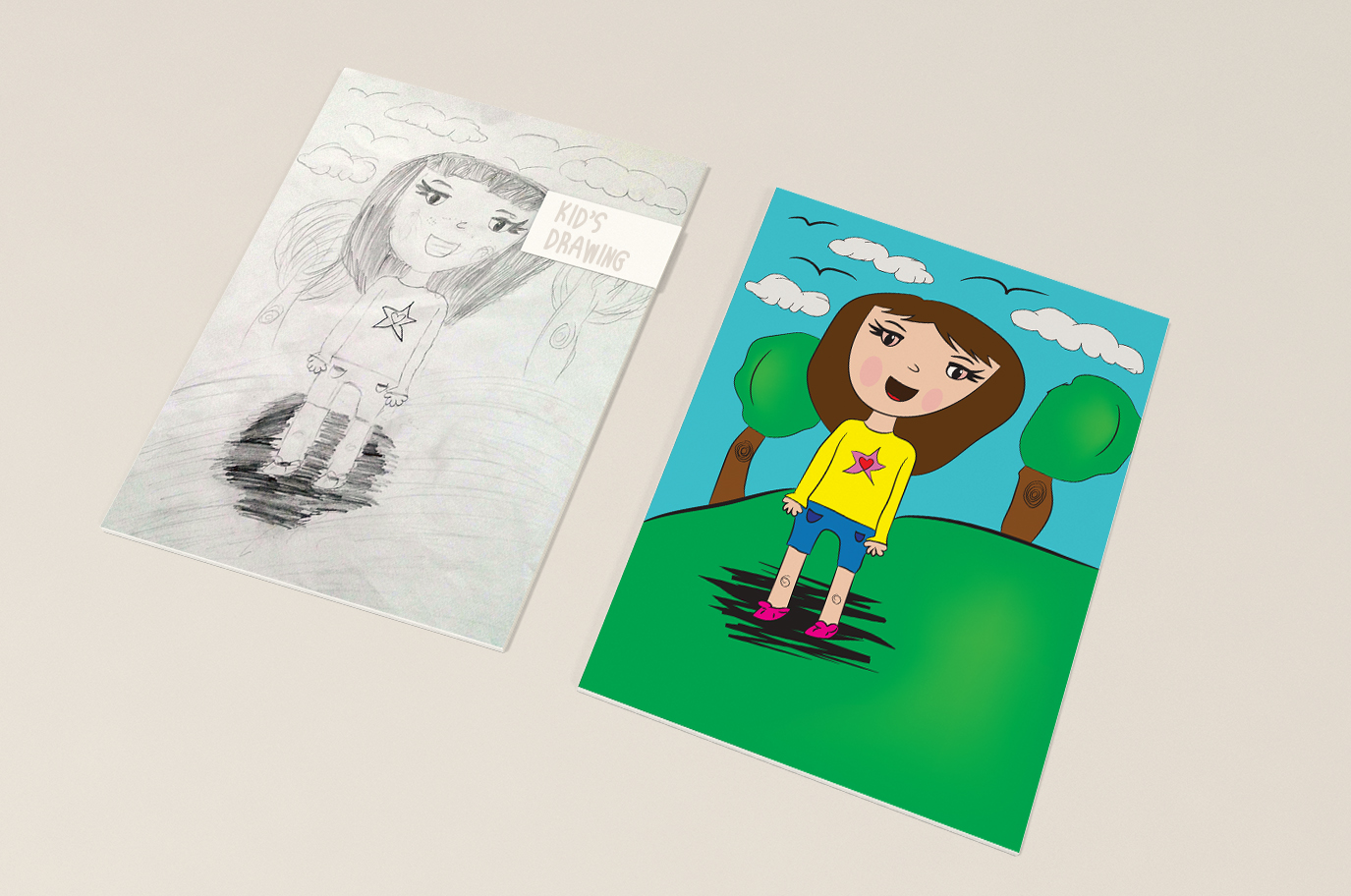 Magical Creatures For Kids Drawing