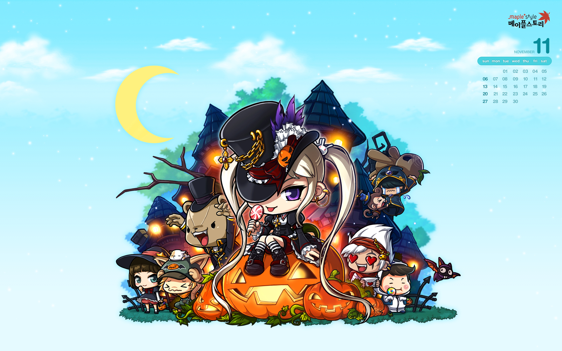 Maplestory Wallpaper  Download a free maplestory