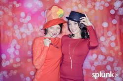Splunk's Winter photo booth