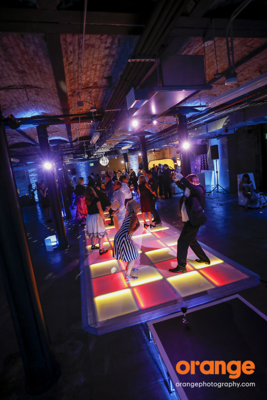 2019 MPINCC Gala at the Hibernia! Lighted Dance Floor!