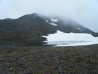 北沼とトムラウシ