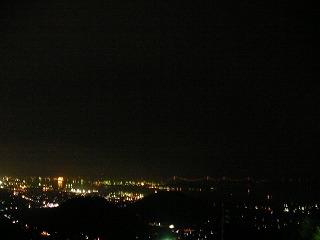 五色台からの夜景