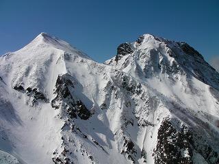 中岳と阿弥陀岳