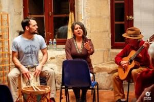 Marita y Facundo avec Luis Corral 3