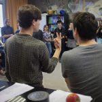 Rythme Signé percussions au lycée Aristide Briand (Saint-Nazaire) 3