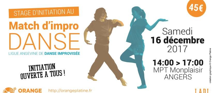 Stage de match d'impro danse - 16 décembre 2017