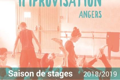 Danse Contact Improvisation saison 2018/2019