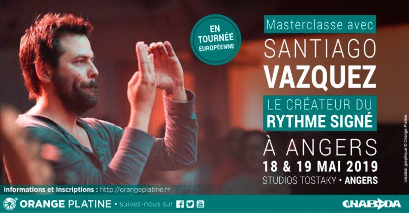 Masterclasse Santiago Vazquez - Studios Tostaky - Le Chabada