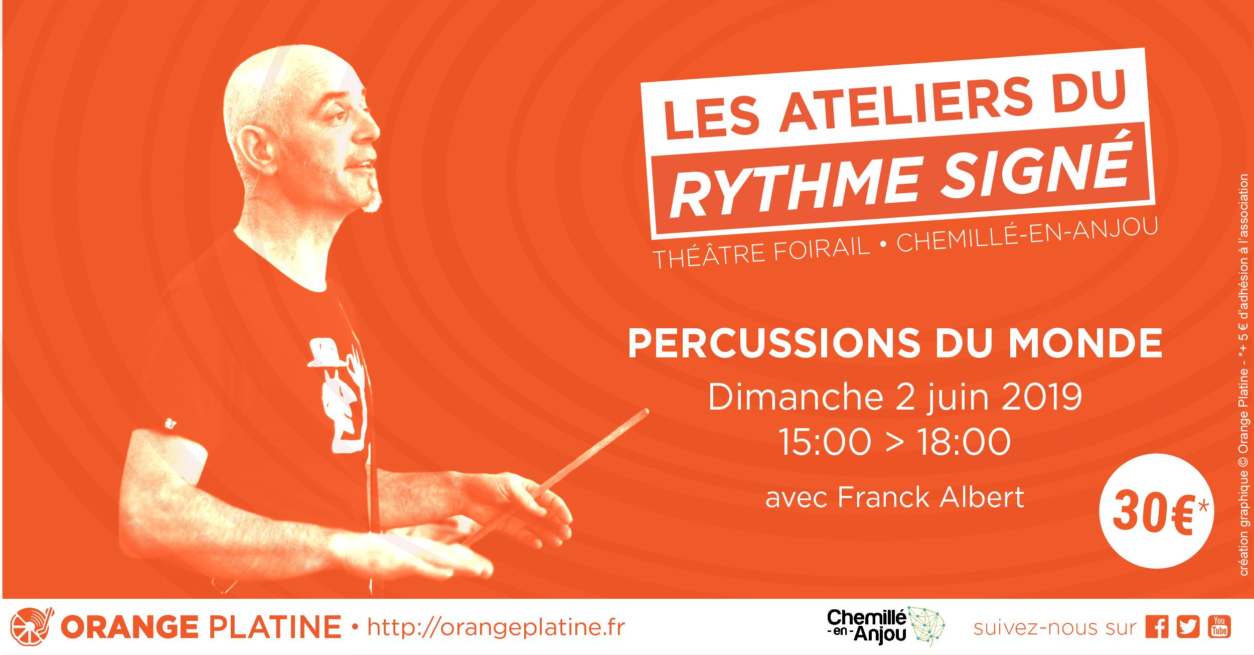 Atelier Percussions Franck Albert - 02062019