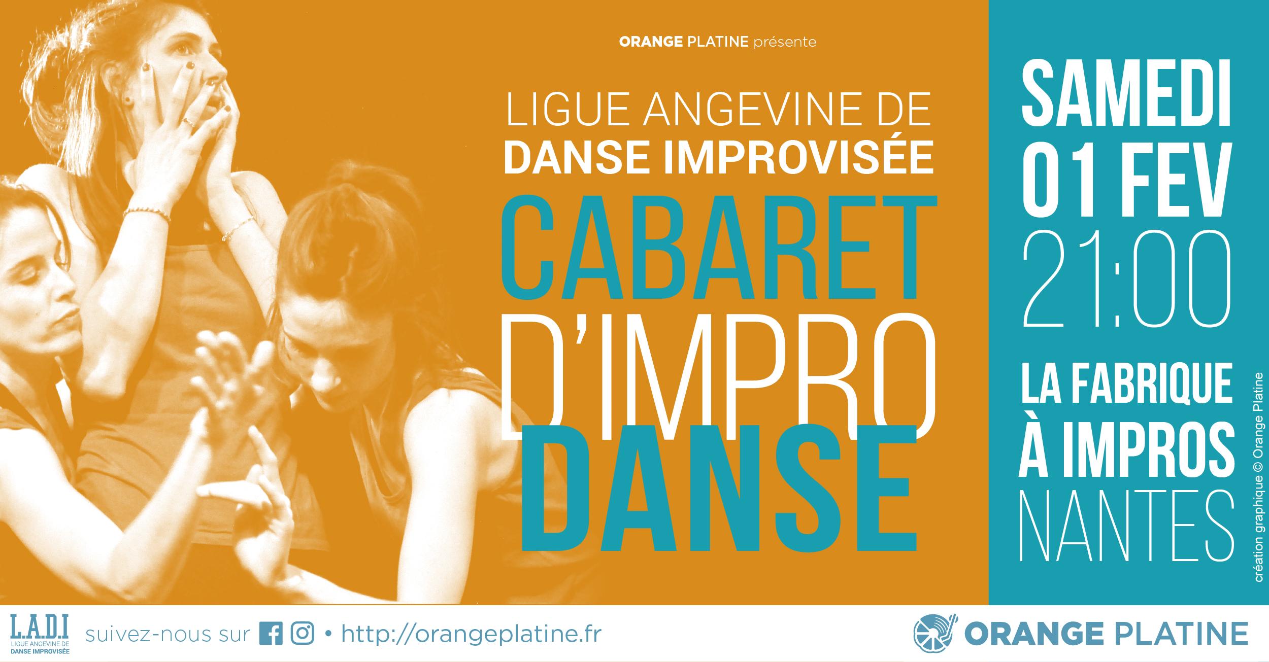Cabaret d'Impro Danse - LADI @La Fabrique à Impros
