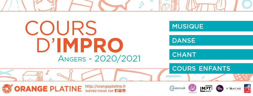 Cours d'impro 2020-2021 Orange Platine