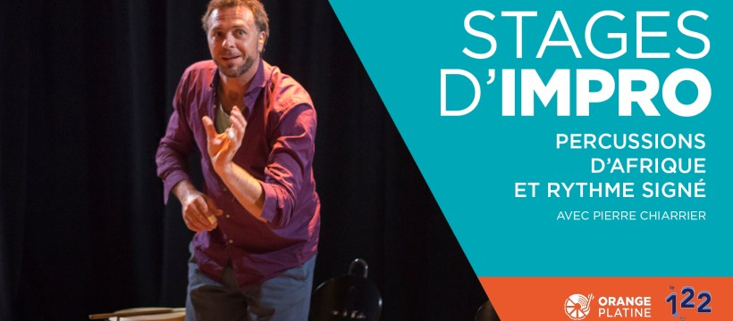Stage impro percussions rythme signé - Pierre Charrier
