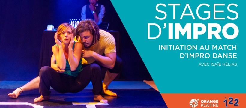 Stage impro danse - Isaie Hélias