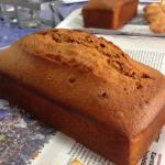 キャラメルフィグのパウンドケーキ・チュイル C
