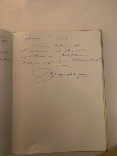 Ce Fut Un Plaisir De Vous Recevoir : plaisir, recevoir, Visite, Sénateur, Johnny, Isakson, L'Orangerie, Paris