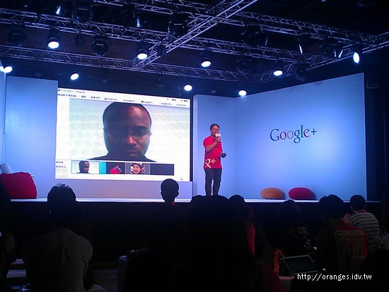 Google+ 周年Party